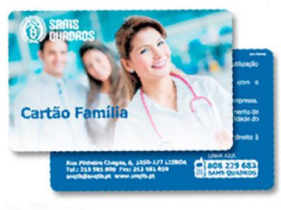 SAMS/QUADROS - Cartão Família