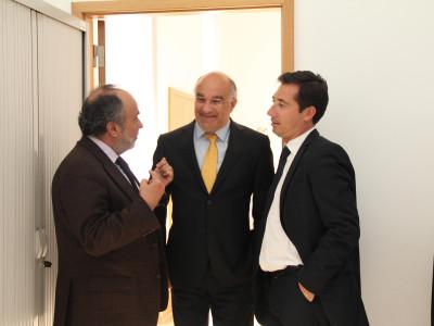 Visita do Prof. Fernando Ribeiro Mendes (Presidente da Fundação Inatel)