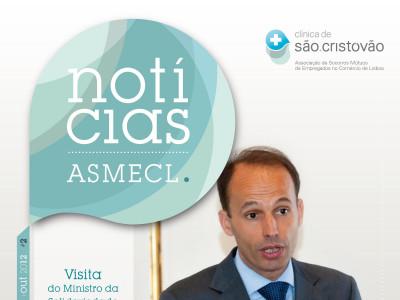 Lançamento da Revista Notícias ASMECL 2