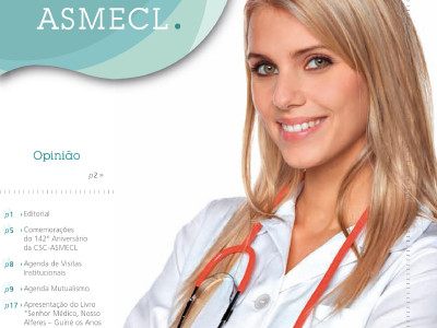 Lançamento da Revista Notícias ASMECL 4